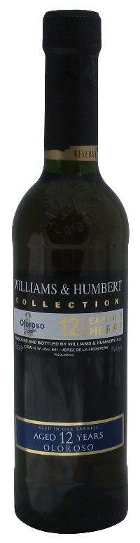 Dry Oloroso Sherry 12 Years Old, Williams & Humbert, Half Bottle
