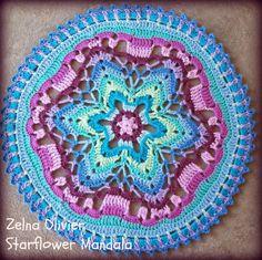 Starflower Mandala:   Pattern                                                                                                                                                     Mehr