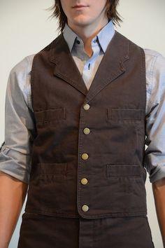 Old West Canvas Frontier Vest by Duchess Clothier #vests