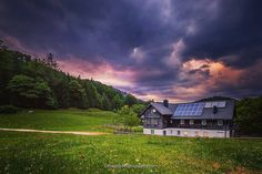 While hiking on the Ötscher I took this shot, afterwards we slept in this lovely cabin. A storm and the sunset created this dramatic scenery. Link in the bio, if you wanna see more pictures of me 😀 Landscape Photography, Nature Photography, Travel Photography, Landscape Architecture, Landscape Design, Long Exposure, More Pictures, Austria, I Am Awesome