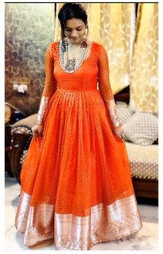 Frock Fashion, Indian Fashion Dresses, Indian Gowns Dresses, Dress Indian Style, Stylish Dresses For Girls, Stylish Dress Designs, Designs For Dresses, Long Gown Dress, Saree Dress