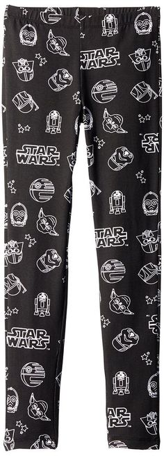 The Force Awakens Clothing Star Wars Big Girls' All-Over Print Leggings