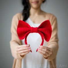 Kiki's Delivery Service: Bow Headband Pattern - All About Ami