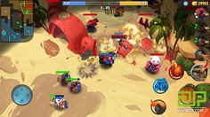 Pigbang is a Mobile Shooter-MOBA Hybrid With Twin-Stick Control - 2P.com - PigBang - news,SlideToPlay