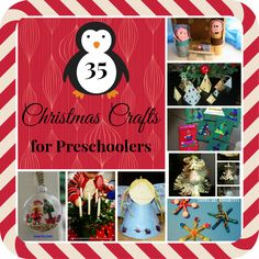 35+ Christmas Crafts for Preschoolers from Mama Pea Pod