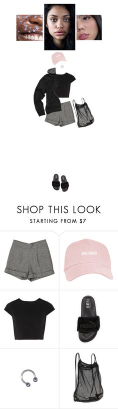 """""""GOAL DIGGER"""" by zo0tsuit-bella ❤ liked on Polyvore featuring Alice + Olivia, Puma and Athleta"""