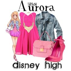 """Aurora"" by tallybow on Polyvore"