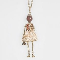 New in Now! A fresh collection of our gorgeous doll necklaces have arrived online and in store. Meet the latest fabulous ladies Audrey, Iris, Katherine and Miranda 😘😘 Shop the link in our bio or head in store.  #spencerandrutherford #dollnecklace