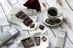 INTRODUCING MAZA CHOCOLATE  70% Dark Chocolate