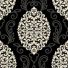 """Vector damask seamless pattern element. Classical luxury old fashioned damask ornament, royal victorian seamless texture for wallpapers, textile, wrapping. Exquisite floral baroque template tarafından oluşturulmuş """"garrykillian"""" Telifsiz vektörü en uygun fiyatta Fotolia.com 'dan indirin. Pazarlama projelerinize mükemmel stok vektörü bulmak için, en ucuz online görsel bankasına göz atın!"""