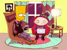my simpsons drawing '10 | Mina Kwon