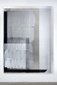 Nathan Hylden - Untitled (2009) - Acrylic on aluminum - 196.85 x 144.78 cm
