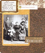 You can scrapbook your family history with @georganahall in self-paced class Family History Simplified