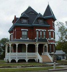 kansas victorian homes   pratt campbell house 1313 n emporia the pratt campbell house was built ...