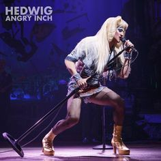 """HedwigOnBway: """"Darren Criss is mesmerizing in the smash hit 'Hedwig'"""" - Anthony Tommasini, New York Times  @DarrenCriss"""