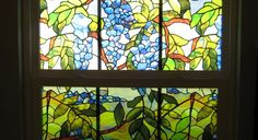 glass paint window diy - Google Search