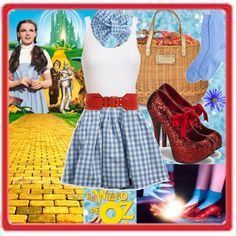 modern dorothy costume - Google Search  sc 1 st  Pinterest & DIY Halloween Costume: Dorothy from Wizard of Oz | Pinterest | DIY ...