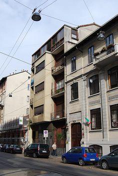 Casa Toninello, MIlano - Terragni