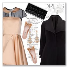 """""""On Trend: Two-Tone Dresses"""" by andrejae ❤ liked on Polyvore featuring Studio 8, Miu Miu, polyvoreeditorial, polyvorecontest and twotonedress"""