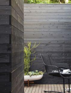 Patio Wall, Patio Roof, Pergola Patio, Modern Wood Fence, Wood Fence Design, Modern Fence Design, Terrace Design, Yard Design, Chair Design