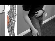 How to stretch TFL (tensor fascia latae) the right way - YouTube