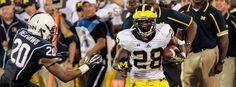 Report Card: Grading U-M in a 24-21 win over UConn