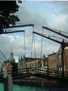 Dordrecht, holland, Damiatenbrug