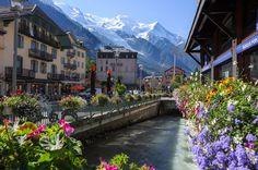 Mountain Village, Chamonix, France
