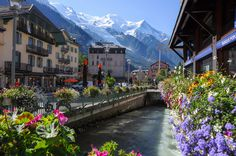 Mountain Village, Chamonix, France