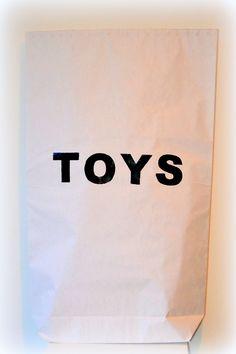 XXL PAPERBAG - toys