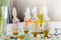 Egg warmers, Egg cosy - Easter Bunnies, Easter decoration