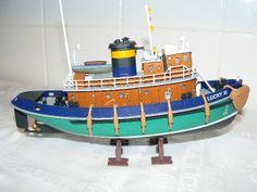 Scale Model Ships, Scale Models, Tugboats, Sea, Lights, Model Train, Scale Model, The Ocean, Ocean