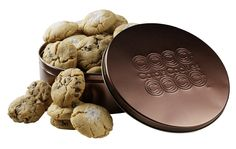 Order handmade, gourmet cookies online from Carol's Cookies! Enjoy the sweet taste of real butter and hints of brown sugar in every bite. Gourmet Cookies, Mini Cookies, Sugar Cookies, Order Cookies, Famous Chocolate, Tin Gifts, Raisin, Customized Gifts, Whole Food Recipes