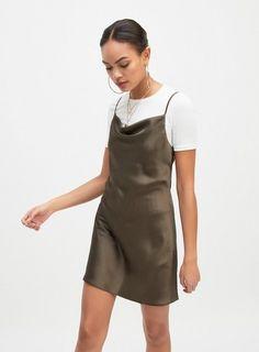 d99bf75b2ff45 7 Best Mini slip dress images | Mini dresses, Short dresses, Hot dress