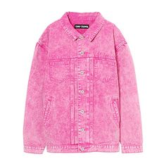 GOOD FUCKIN'DAY JEAN JUMPER ❤ liked on Polyvore featuring tops, sweaters, pink top, pink jumper, jumper top, jumpers sweaters and pink sweater