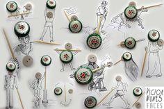 Les illustrations de Victor Nunes faites avec des objets