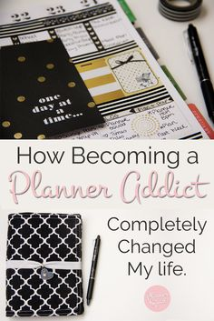 How Becoming a Planner Addict Completely Changed My Life on plannersquad.com