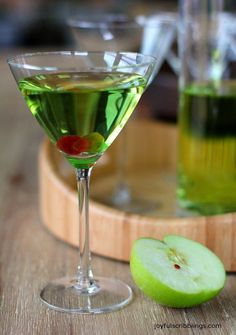 Green Appletini Cocktail