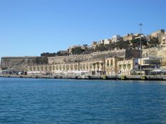 Customs House area at The Grand Harbour, Malta - February 2012
