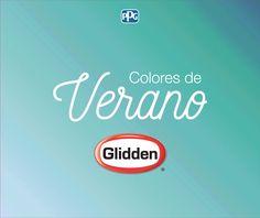 ¡Colores de Verano Glidden!  Hemos seleccionado una serie de colores inspirados en la alegría y vitalidad que traen los días de verano. Con estos colores podemos transportarnos a unas vacaciones en una playa exuberante de aguas cristalinas y cielo soleado, impregnando nuestros espacios del aroma de las frutas tropicales y la brisa marina. Seleccionamos 12 colores y los distribuimos en 4 combinaciones de 3 colores.   Te presentamos la combinación CARIBE, que te dará una sensación…