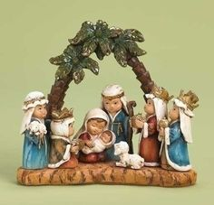WoodWorks Pageant Nativity Figurine Features Children as The Main Characters 6Inch >>> This is an Amazon Affiliate link. Check out the image by visiting the link.