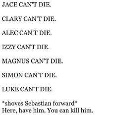 I agree XD Lets kill Sebastian!