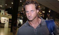 Tenis | Nalbandian volvió al país y dijo estar muy triste por la lesión (Foto Arch.: Télam) | Leé la nota completa en http://www.lapampadiaxdia.com.ar/2012/08/tenis-nalbandian-volvio-al-pais-y-dijo.html