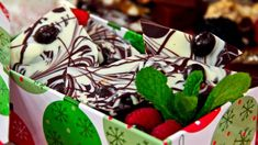 Steven and Chris - Chocolate Swirl Espresso Bark Chocolate Covered Espresso Beans, Melting White Chocolate, Chocolate Swirl, Chocolate Espresso, Chocolate Toffee, Chocolate Drizzle, Decadent Chocolate, Christmas Food Gifts, Christmas Baking