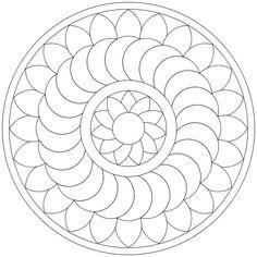 Mandala-Ausmalbild Nr. 37