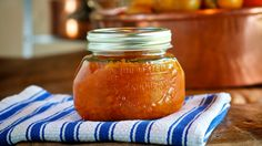 Surprisingly delicious, this vibrant orange carrot marmalade has a tangy-sweet flavor and tastes great paired with a soft spreadable cheese, such as goat cheese, brie or cream cheese, served on art…