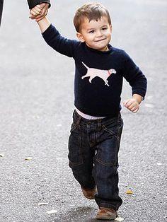Tom Brady's son Ben, he's sooo adorable