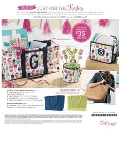 Thirty-One Hostess Specials for July 2017! Join my VIP group @ www.facebook.com/groups/nicoleflyte for more details!