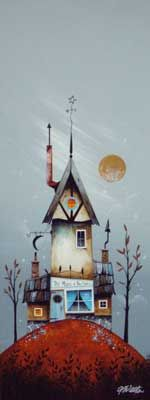 Gary Walton original 'Moon and the Stars'