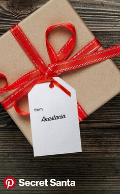 Print your own Pinterest gift tags here to add a personalized touch to your gifts this holiday season.
